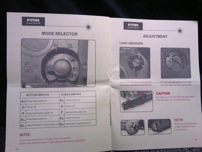 FMA PEQ-15 取り扱い説明書4