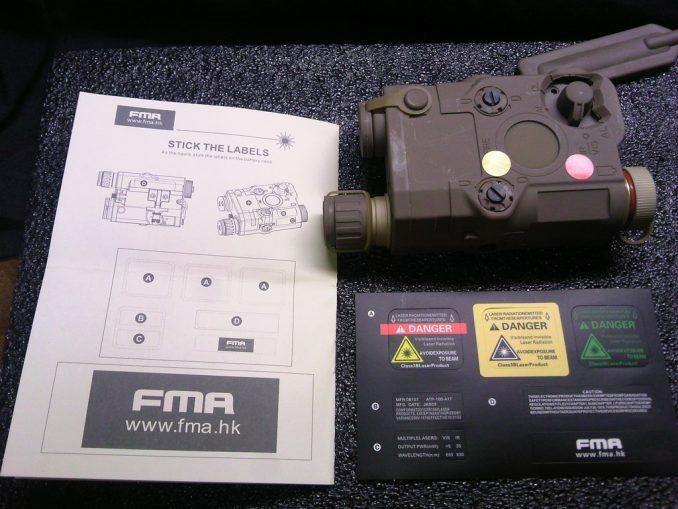 FMA PEQ-15 ステッカー