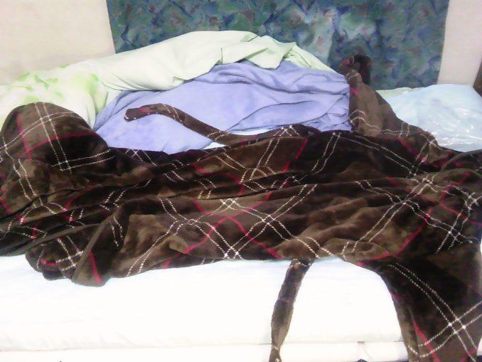 着る毛布「Groony」2