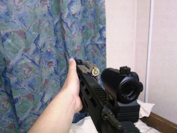 M4とPEQ-15 一人称視点