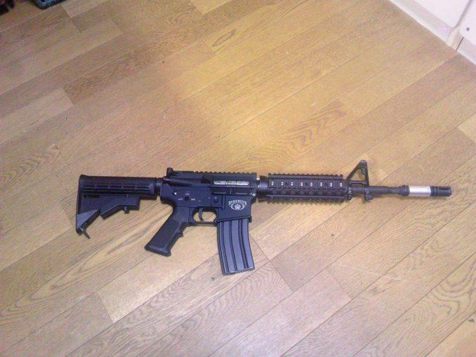 M4A1 右側