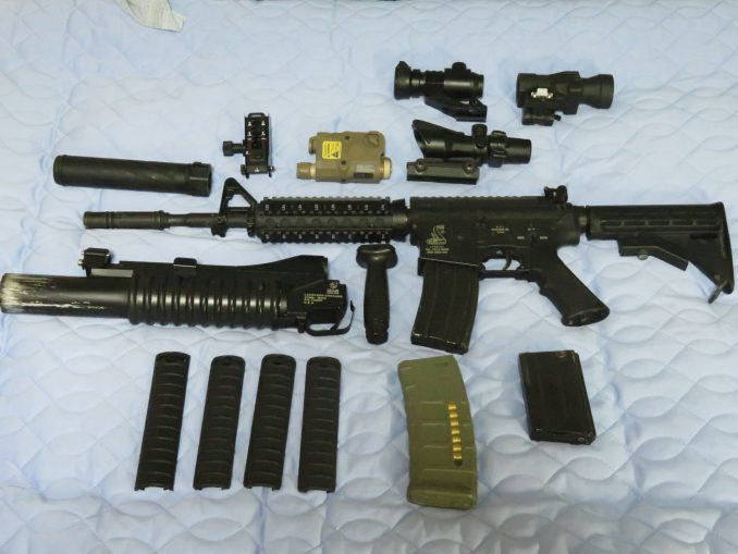 M16・M4系電動ガンを外装カスタムしてみた
