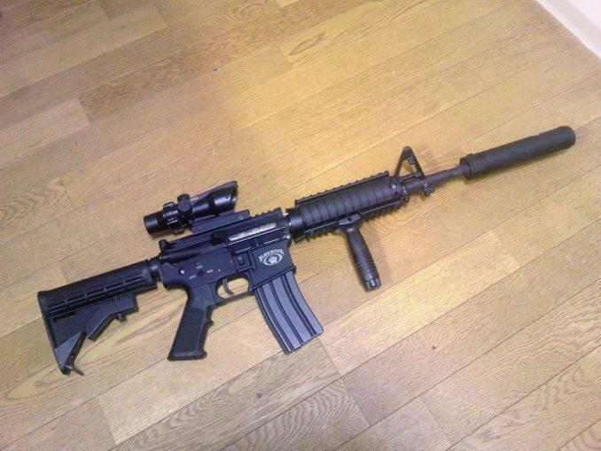 M4A1 TA-31装着2