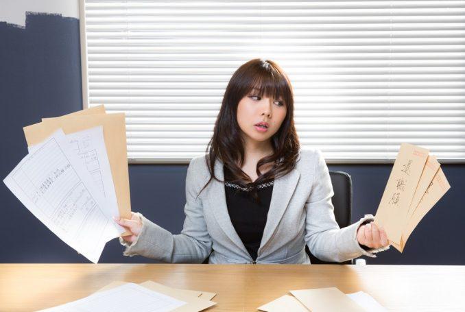 履歴書と退職願
