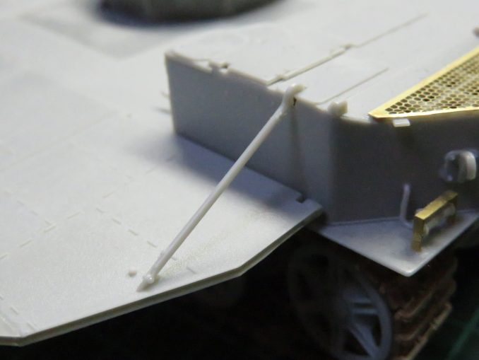 フラックワーゲン 装甲板の仮組み3