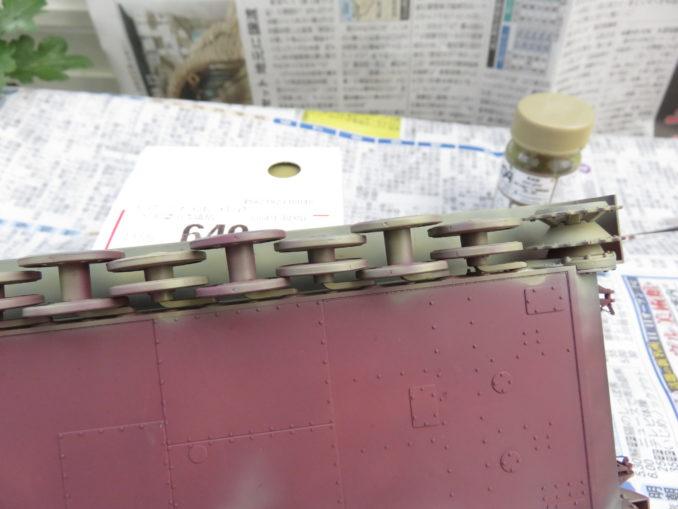 フラックワーゲン 車体塗装3