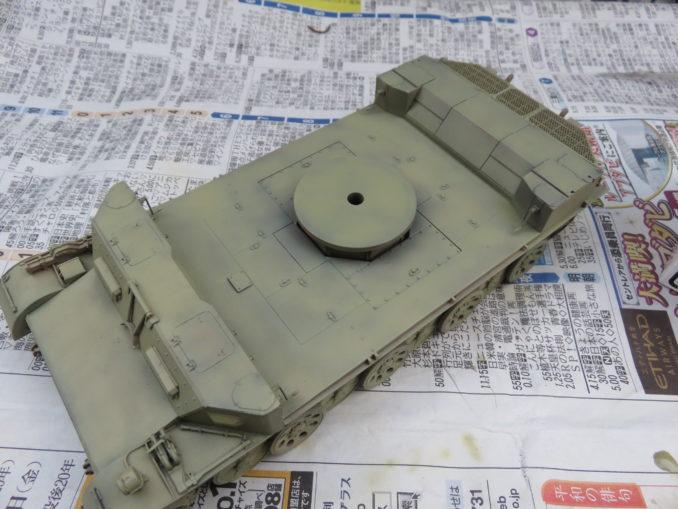 フラックワーゲン 車体塗装4