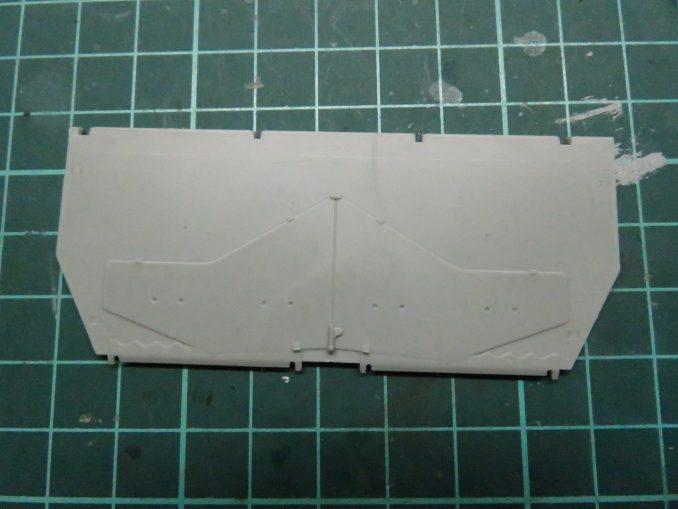 フラックワーゲン 後部装甲板2