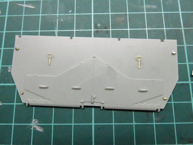 フラックワーゲン 後部装甲板4