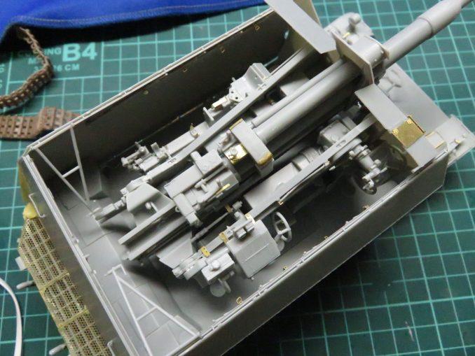 フラックワーゲン 装甲板仮組み 走行時3