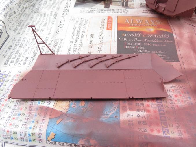フラックワーゲン サーフェイサー塗装4