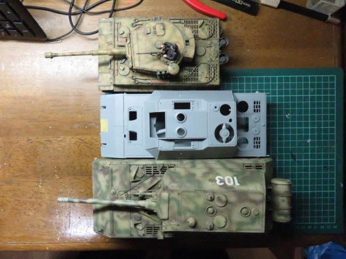 E-100対空戦車とマウスとティーガーI