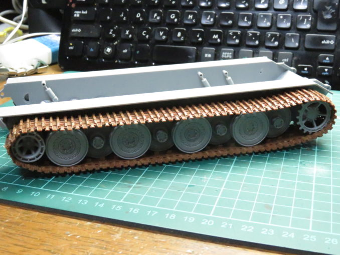 E-100対空戦車 ロコ組み