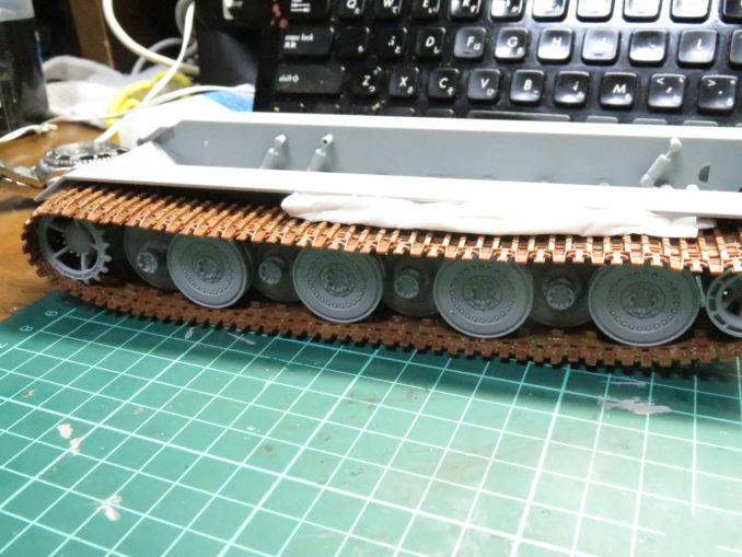 E-100対空戦車 ロコ組み3