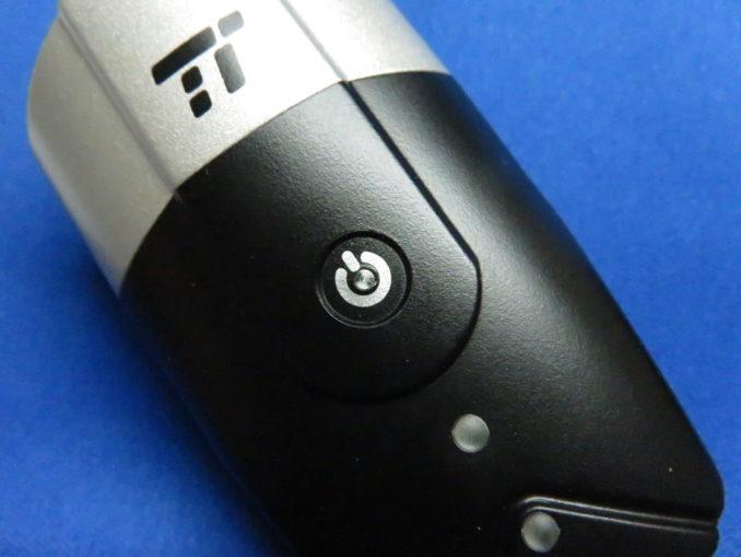 TaoTronics USB充電式ライト(TT-HP007) ヘッドライト スイッチ部分