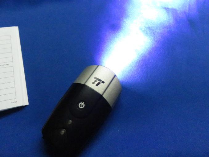 TaoTronics USB充電式ライト(TT-HP007) ヘッドライト 照射