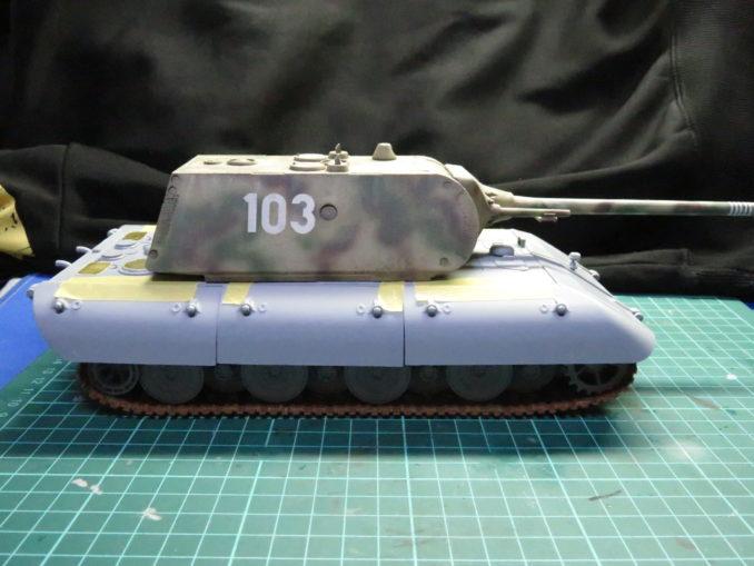 超重戦車 E-100(マウス砲塔)