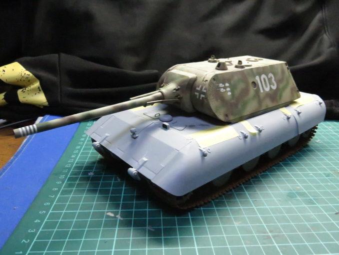 超重戦車 E-100(マウス砲塔)その2