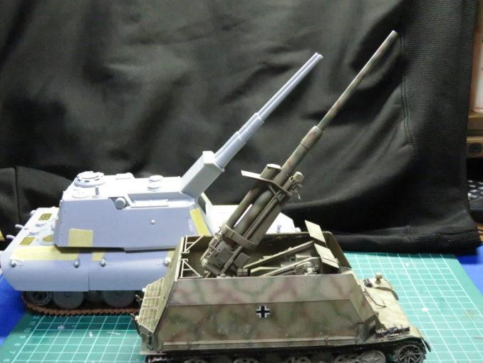 E-100対空戦車とフラックワーゲン