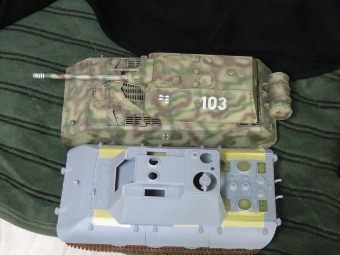 E-100対空戦車とマウス