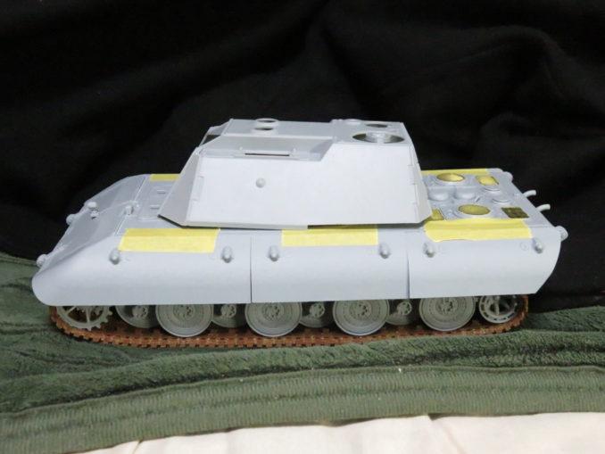 E-100対空戦車と砲塔