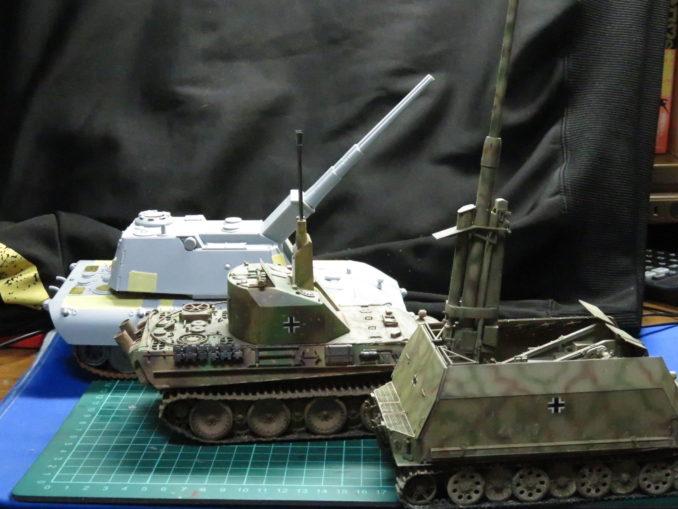 E-100対空戦車とケーリアンとフラックワーゲン