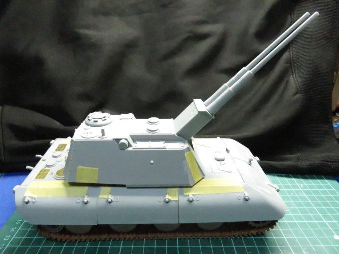 E-100 対空戦車の最大仰角