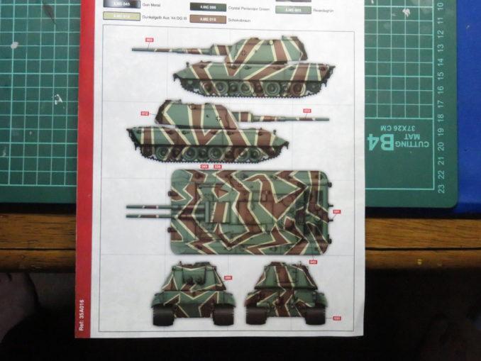 E-100対空戦車 塗装例