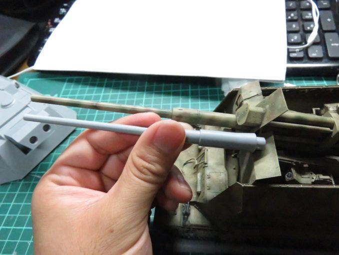 E-100対空戦車 8.8cm Flakzwilling フラックワーゲンと比較