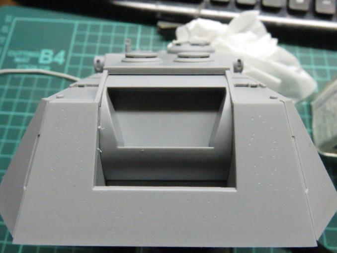 E-100対空戦車 8.8cm Flakzwilling 回転軸7