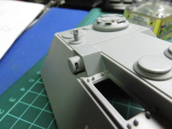 E-100対空戦車 ステレオ式レンジファインダー