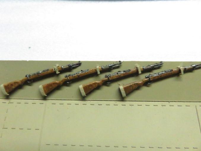 フラックワーゲン ライフル 鉄の塗装