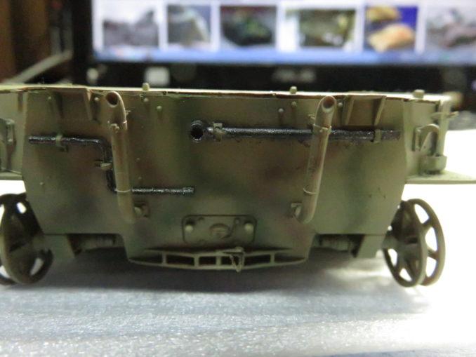 フラックワーゲン OVM 鉄の塗装4