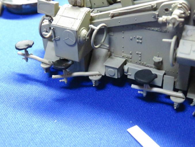フラックワーゲン Flak41 シート取り付け