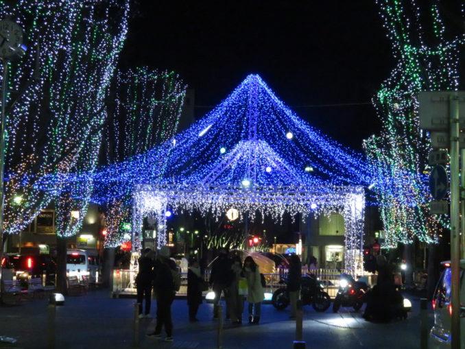 青葉シンボルロードのイルミネーション2 2017年12月24日