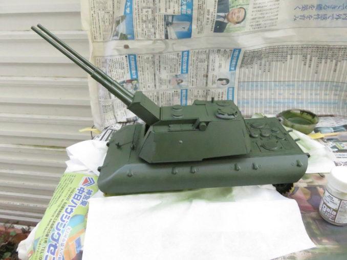 E-100 対空戦車 車体の基本塗装4