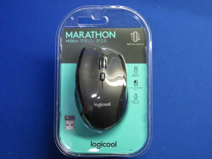 ロジクール マラソンマウス M705m パッケージ
