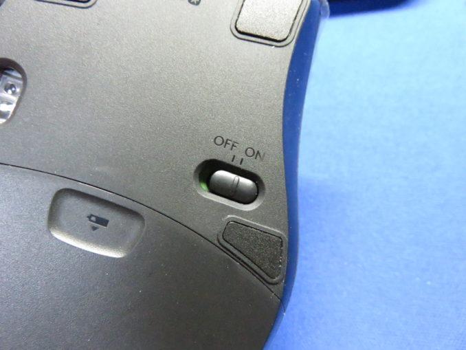 ロジクール マラソンマウス M705m マウスのスイッチ