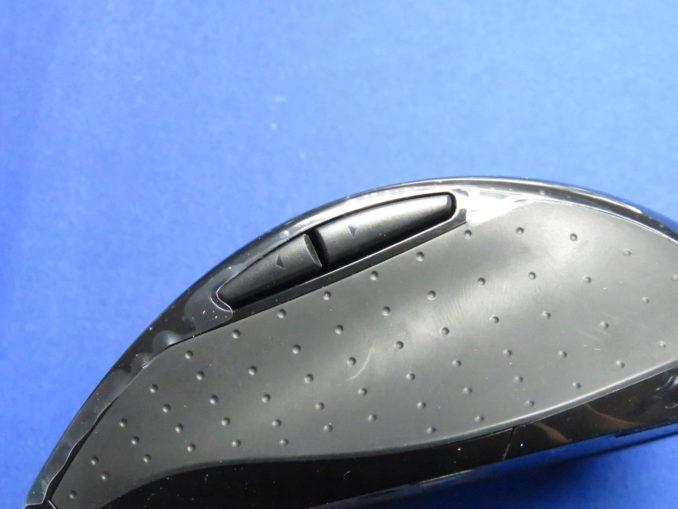 ロジクール マラソンマウス M705m サイドボタン