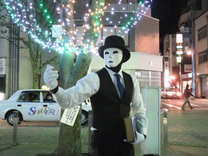 青葉シンボルロードのスタチュー 2017年12月24日