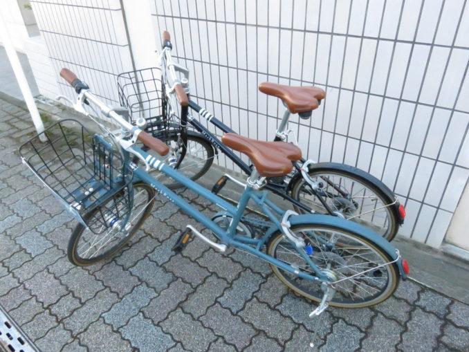 静岡市のレンタサイクルで借りれるミニベロ