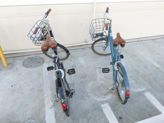 静岡市のレンタサイクルで借りれるミニベロ2