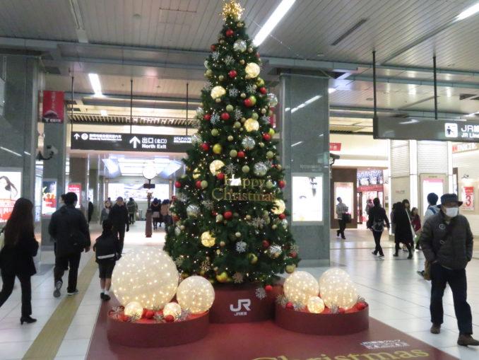 静岡駅に到着 2017年12月24日