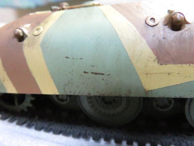 E-100 対空戦車 ひっかき傷の再現