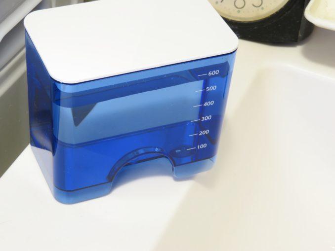 Panasonic 口腔洗浄機 ジェットウォッシャー ドルツ EW-DJ61-W タンクにフタをする
