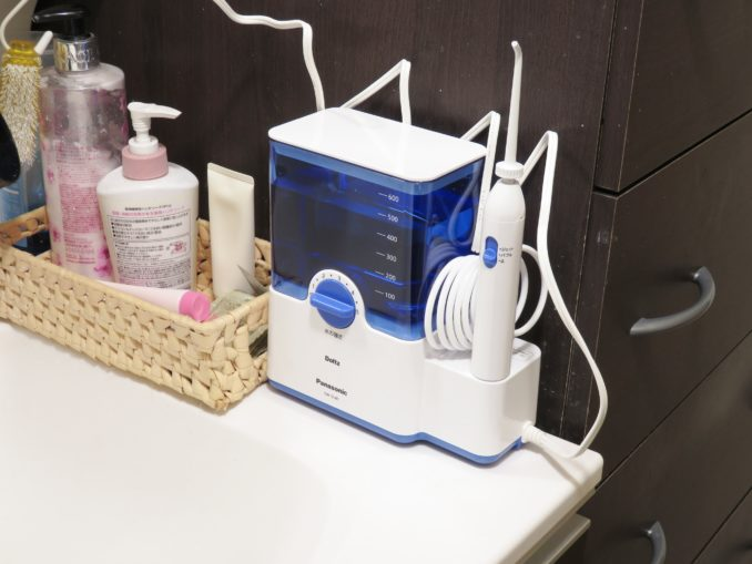 Panasonic 口腔洗浄機 ジェットウォッシャー ドルツ EW-DJ61-W コンパクト