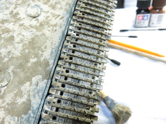 E-100 対空戦車 履帯の泥汚れ