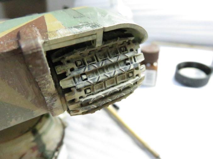 E-100 対空戦車 履帯の泥汚れ2