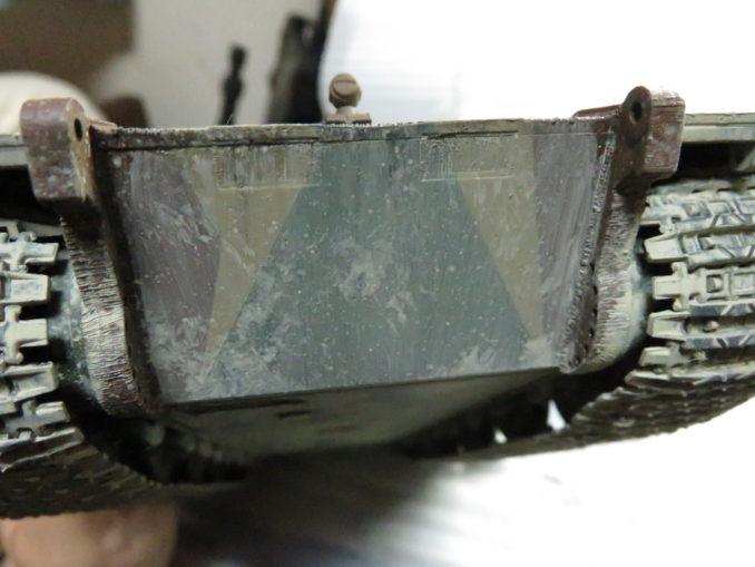 E-100 対空戦車 車体下部の泥汚れ2