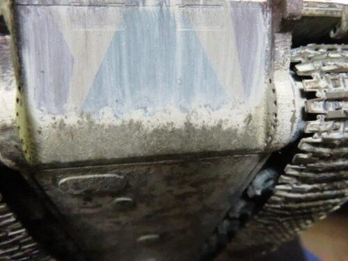 E-100 対空戦車 車体下部の泥汚れ4